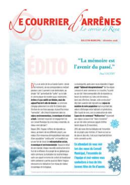 Bulletin municipal Marie d'Arrênes